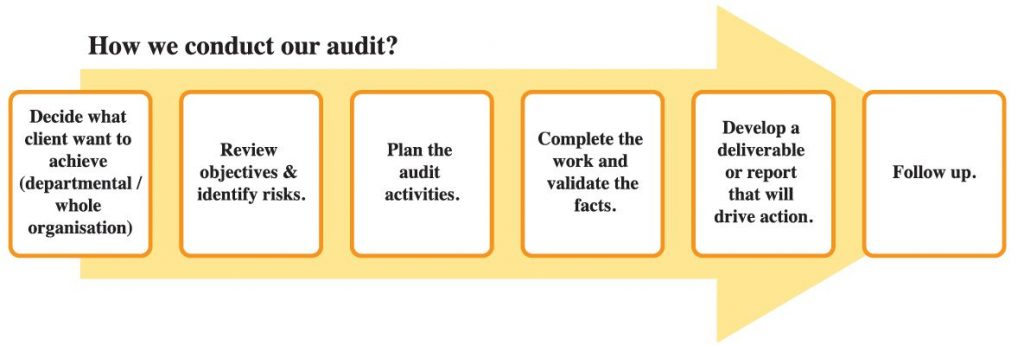 How We Conduct Audit