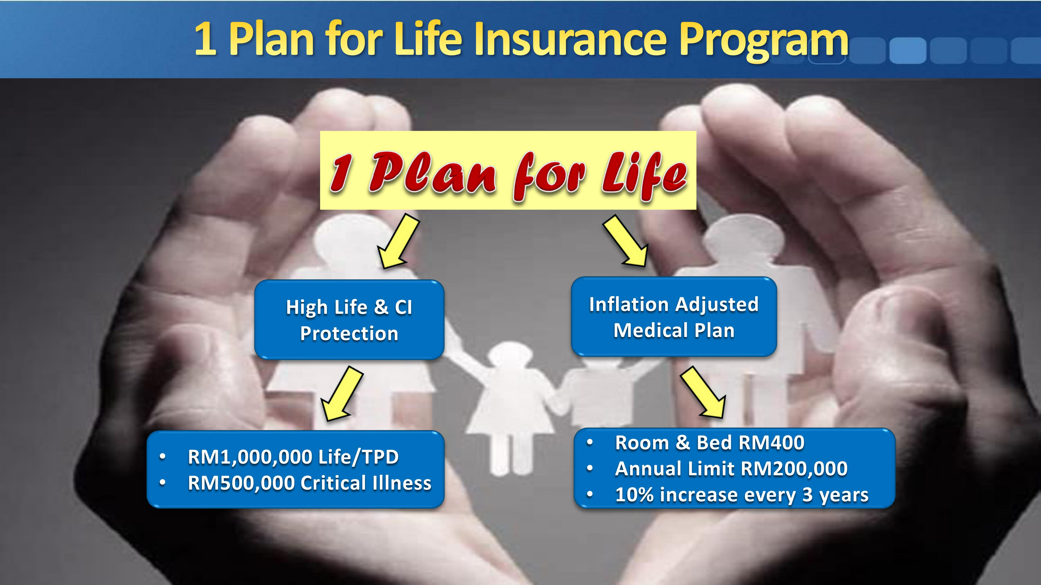 1 Plan for Life (1P4L): Protecting You Come What May