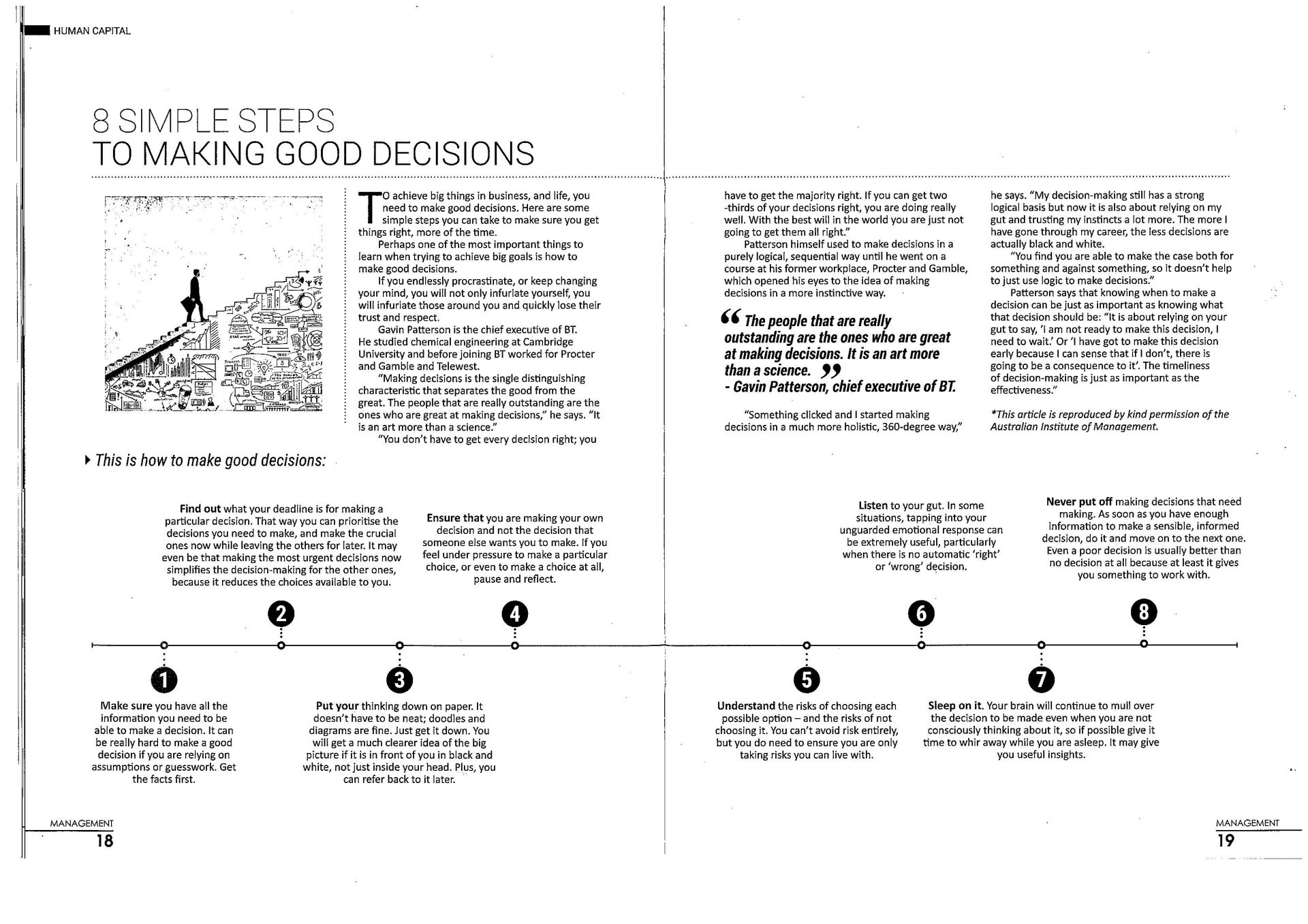 8 Simple Steps To Making Good Decisions