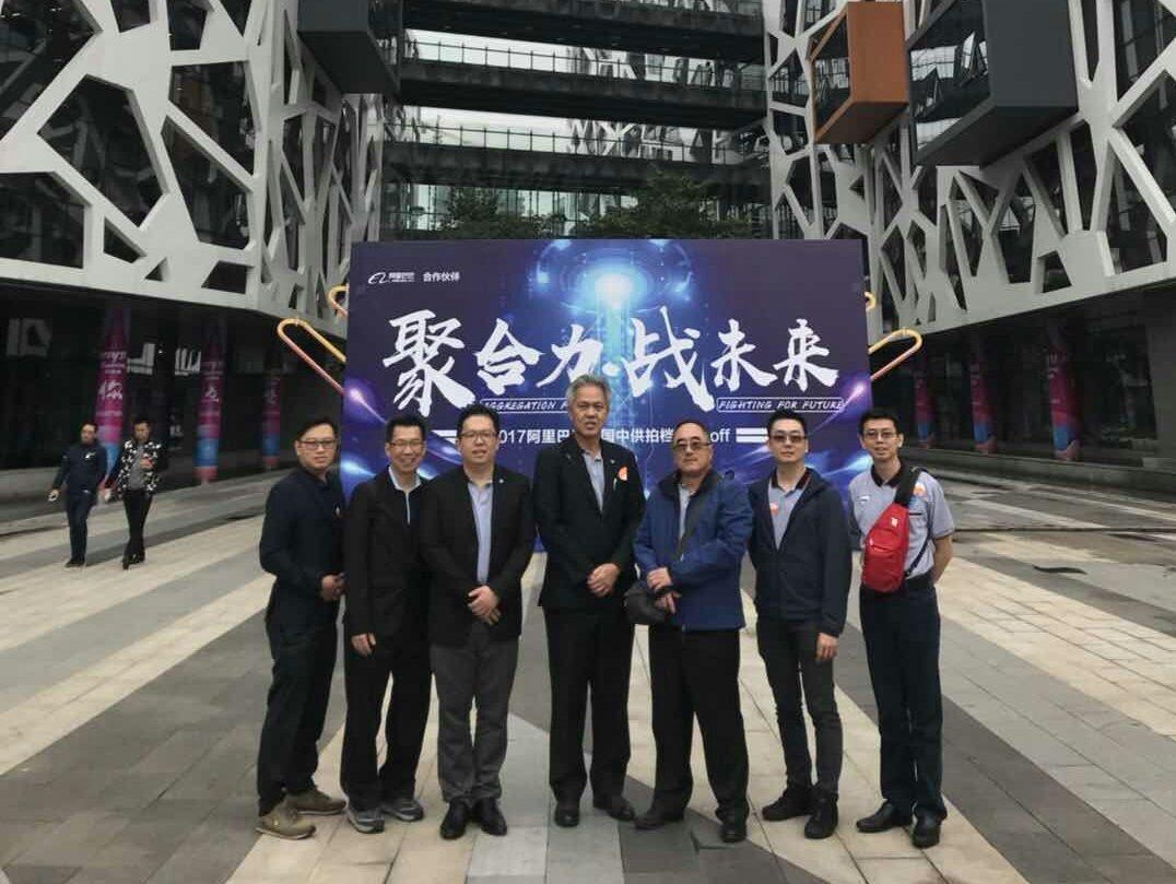 本年末诚国访问中国天健会计师事务所圆满成功