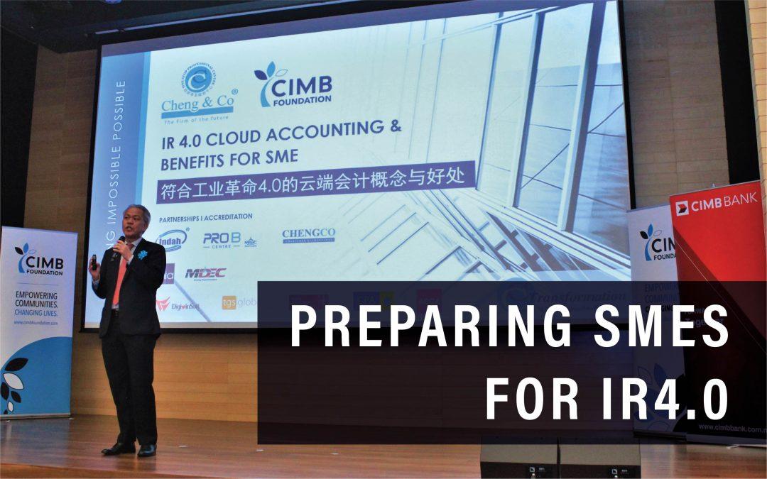 Preparing SMEs For IR4.0