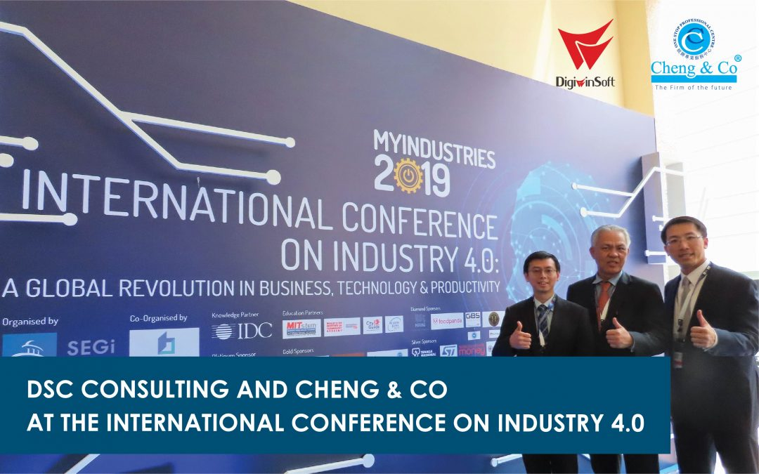 DSC Consulting and Cheng & Co at the International Conference on Industry 4.0