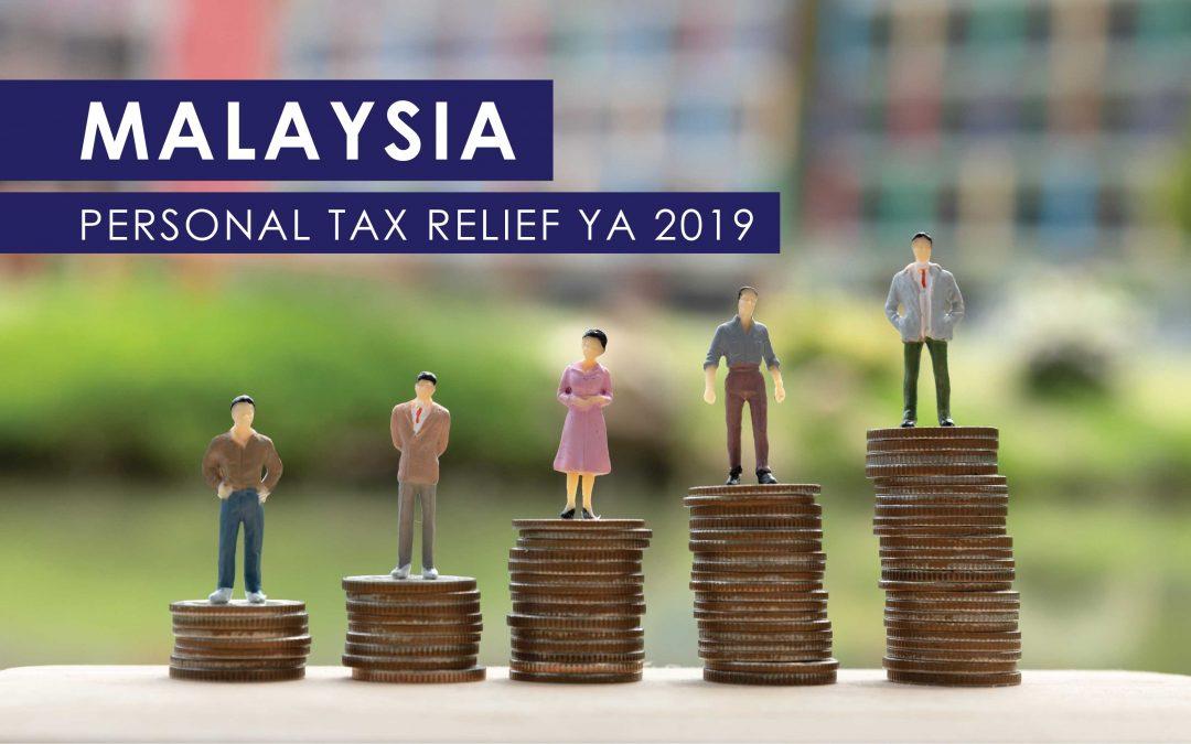 Malaysia Personal Tax Relief YA 2019