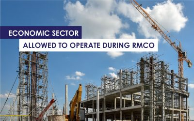 Economic Sector Allowed to Operate During RMCO