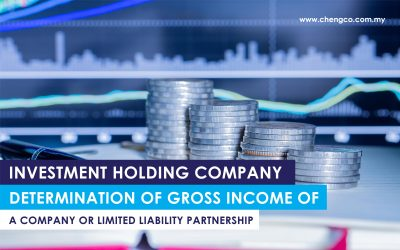 Investment Holding Company Determination of Gross Income of a Company or Limited Liability Partnership