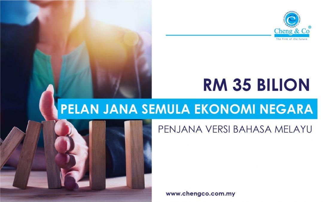 RM35 Bilion Pelan Jana Semula Ekonomi Negara/ PENJANA Versi Bahasa Melayu