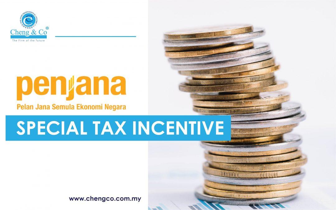 PENJANA – Special Tax Incentive