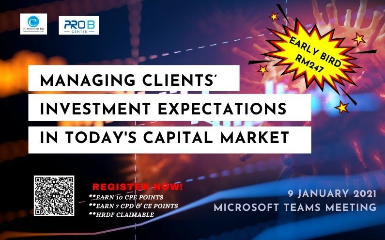 Managing Client's Investment Expectations In Today's Capital Market