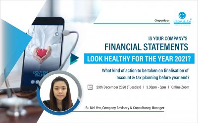 Is Your Company's Financial Statements Looking Healthy For The Year 2021?