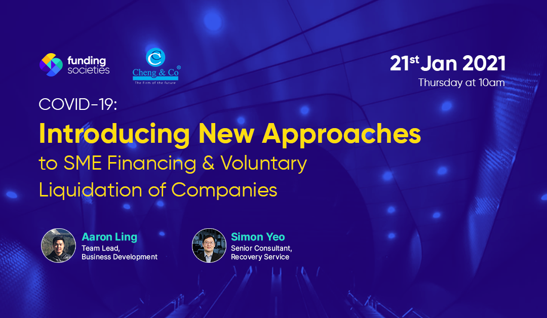 COVID-19: Introducing New Approaches to SME Financing & Voluntary Liquidation of Companies