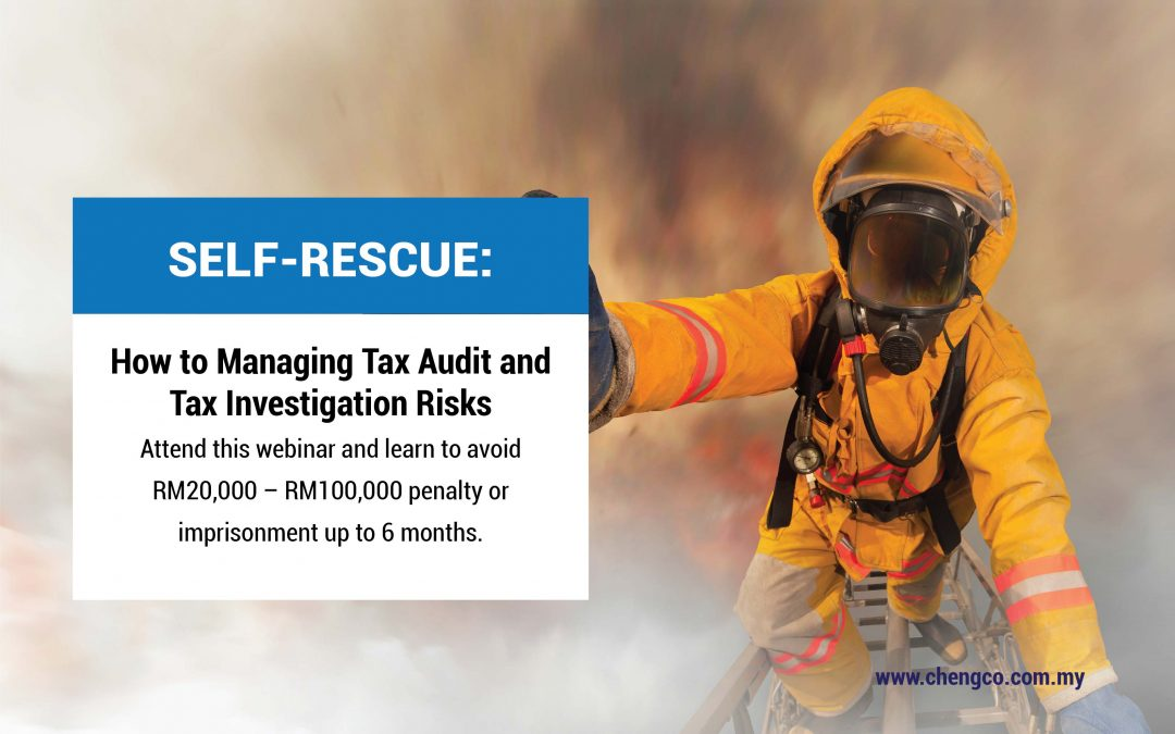 Self-Rescue: How To Manage Tax Audit and Tax Investigation Risks