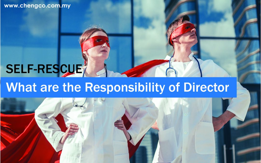 SELF-RESCUE: Responsibilities of Director by Samuel (English)
