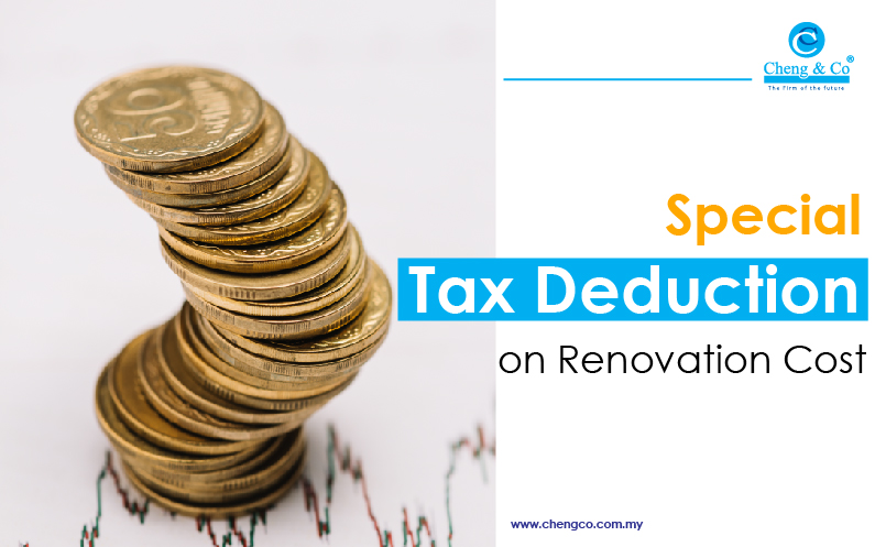 Special Tax Deduction on Renovation Cost