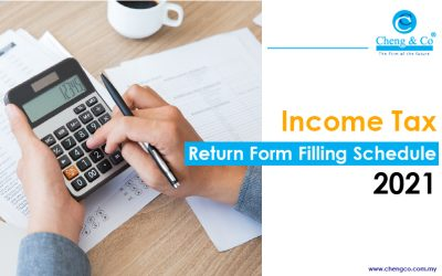 Income Tax Return Form Filling Schedule 2021