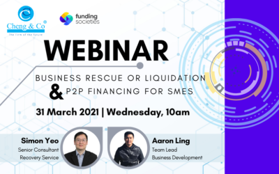 Business Rescue or Liquidation and P2P Financing for SMEs Webinar