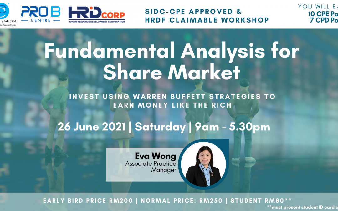 Workshop: Fundamental Analysis for Share Market
