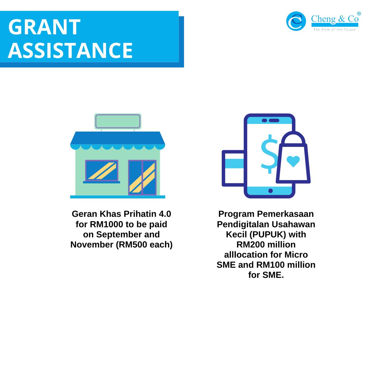 PEMULIH Grant Assistance