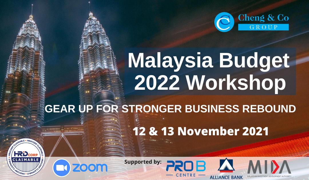 Malaysia Budget 2022 Workshop